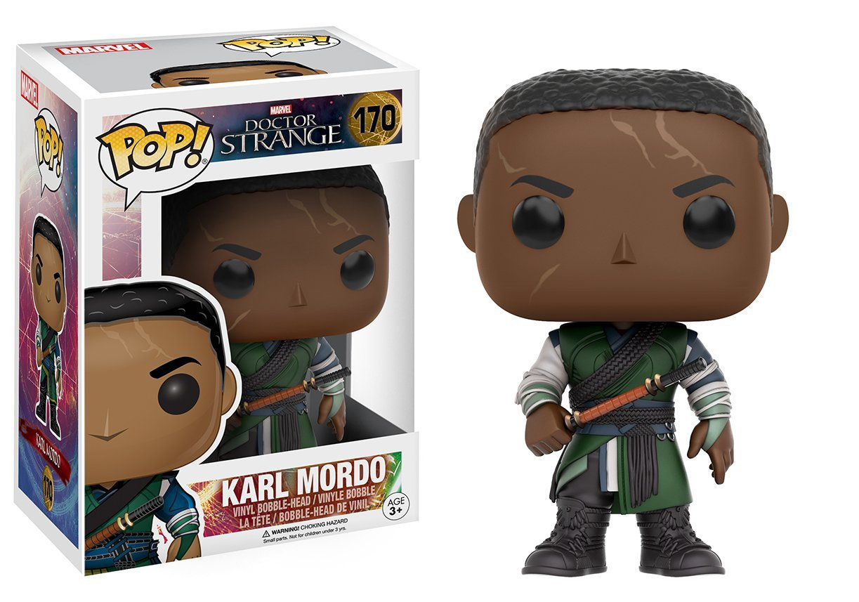9cm Funko pop Doctor Strange Dr. Strange - Karl Mordo Vinyl Figure Collectible Model Toy