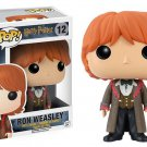 FUNKO POP 10cm Harry Potter Ron Weasley Yule Ball Action Figure Bobble Head Box Collectible Vinyl