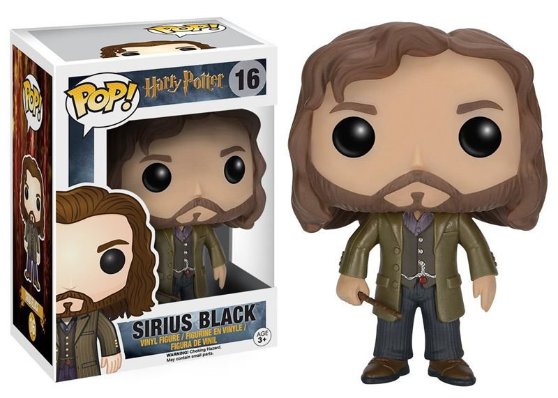 FUNKO POP 10cm Harry Potter Sirius Black Action Figure Bobble Head Box Collectible Vinyl