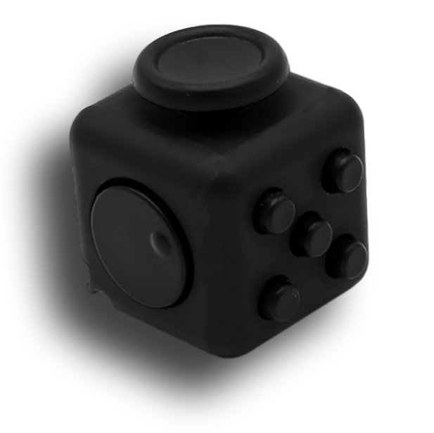 Black Fidget Cube Toys Original Quality Puzzles & Magic Cubes Anti Stress Reliever Gift