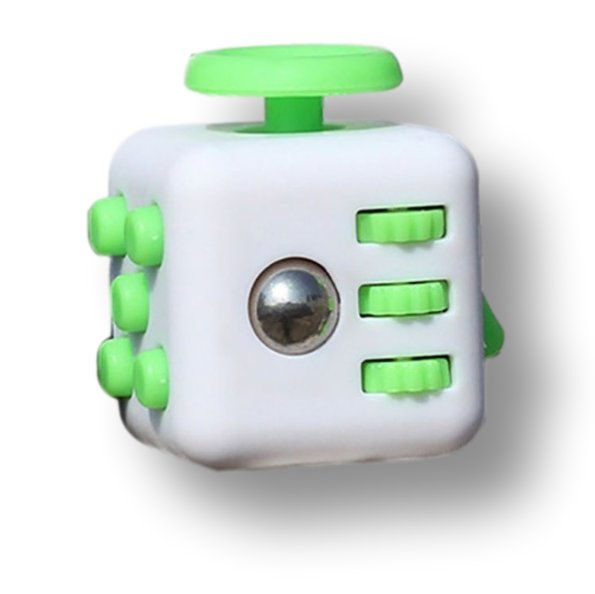 White Green Fidget Cube Toys Original Quality Puzzles & Magic Cubes Anti Stress Reliever Gift