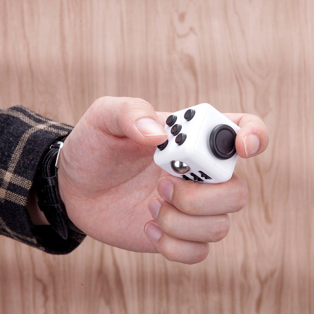 White Black Fidget Cube Toys Original Quality Puzzles & Magic Cubes Anti Stress Reliever Gift