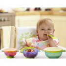 3 x Stay Put Suction Bowl Feeding Children Bowl with Suction Bowl Baby Food Container Slip-resistant