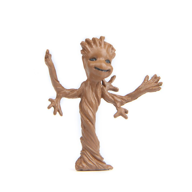 Guardians of the Galaxy Dancing Baby Toddler Groot 3.7cm Vinyl Tree Man Pvc