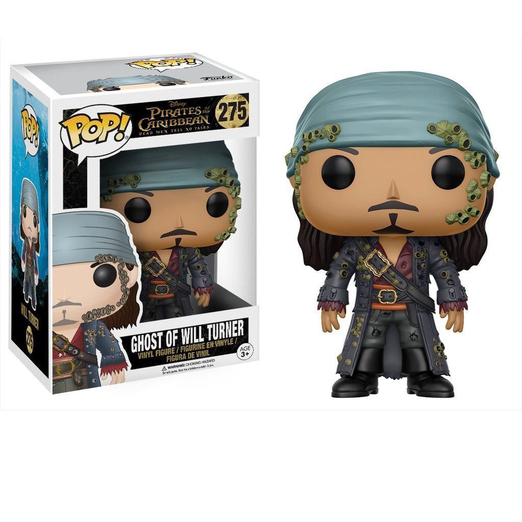 Funko POP Pirates of the Caribbean 5 Dead Men Tell No Tales Ghost Will Turner Action Toy 10cm Vinyl