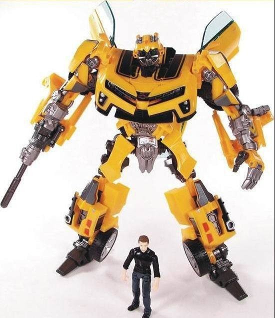 Transformers: The Last Knight Bumblebee Figure Transformers with Sam Action Figure Garage Kits