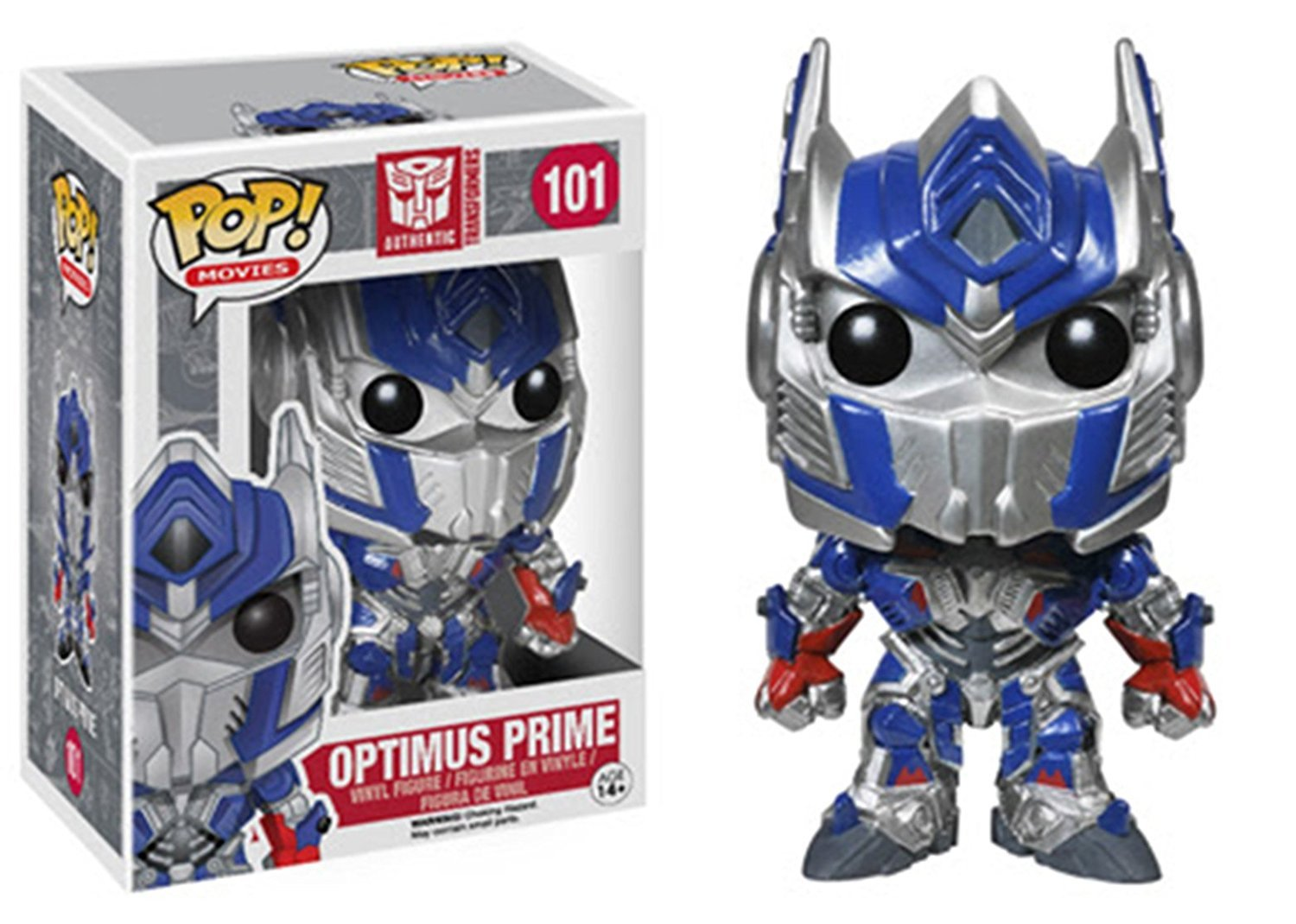 Funko POP Movies Transformers: The Last Knight Optimus Prime 10cm Vinyl Pvc