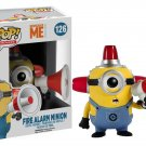 Funko POP Movies Despicable Me 3 Minions Fire Alarm Minion 10cm Pvc Vinyl Action Figure