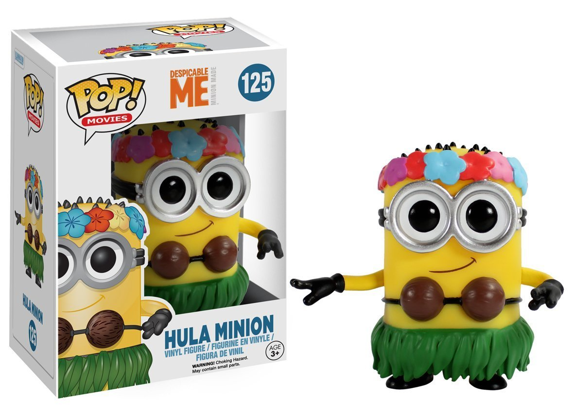 Funko POP Movies Despicable Me 3 Minions Hula Minion 10cm Pvc Vinyl Action Figure