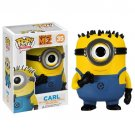Funko POP Movies Despicable Me 3 Minions Carl 10cm Pvc Vinyl Action Figure