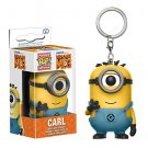 Funko POP Keychain Movies Despicable Me 3 Minions Carl 5cm Vinyl Pvc