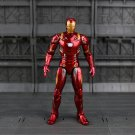 Movie Toy Iron Man Action Figure Spider Man Homecoming Cartoon Model Doll Gift PVC 17cm