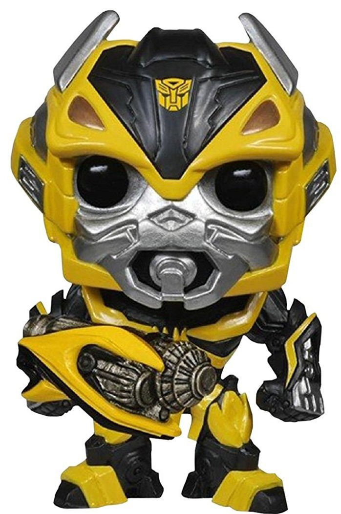 Funko POP Movies Transformers: The Last Knight Bumblebee with Weapon 10cm Vinyl Pvc