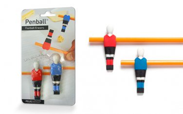 Peleg Design PENBALL Football 2 Erasers Home Kitchen Gifts Office free ship