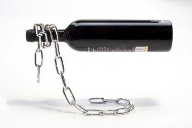 Peleg Design CHAIN Wine Bottle Holder Home Kitchen Gifts Office free ship