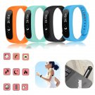 Bluetooth 4.0 Smart Bracelet Sport Healthy Wrist Watch Pedometer For iOS And Android