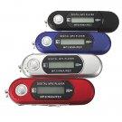 8G USB Flash Drive Memory Stick LCD Mini MP3 Music Player With FM Radio Car Gift