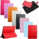 Universal Rotating Slim PU Leather Stand Case Cover For 7 inch Tablet