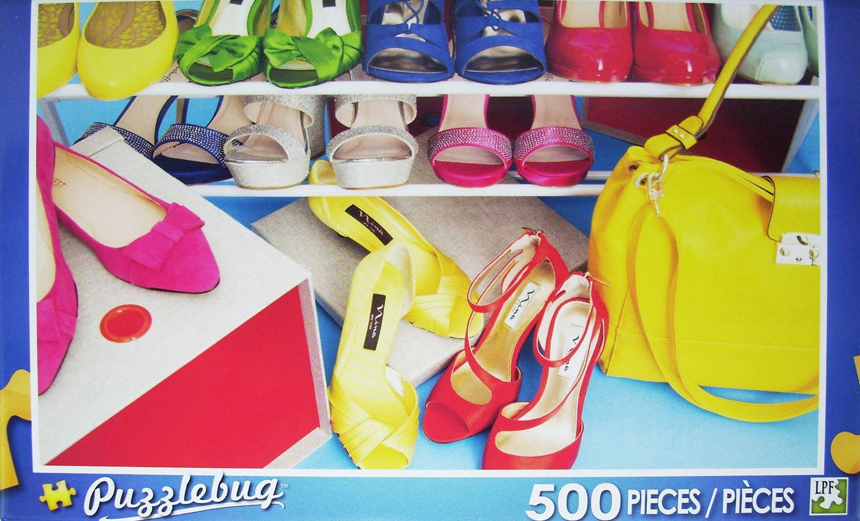 PuzzleBug 500 Piece Puzzle ~ Fashion Shoes