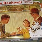 Norman Rockwell Jigsaw Puzzle - The Jewelry Shop - 500 Pieces 18.25 inches x 11 inches