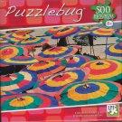 Puzzlebug 500 Piece Puzzle ~ Colorful Umbrellas