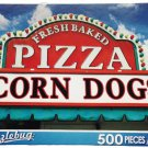 Puzzlebug 500 - Pizza and Corndog Sign