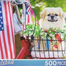 All American Pup - Puzzlebug 500 Piece Jigsaw Puzzle