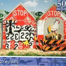 Recycled Traffic Sign Farm - Puzzlebug - 500 Pc Jigsaw Puzzle - NEW