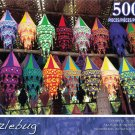 Puzzlebug Puzzles 500 pc Colorful Indian Shades
