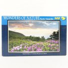 Wonders Of Nature Purple Flowers 500 Pc Puzzle