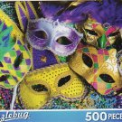 Colorful Masks - Puzzlebug -500 Pc Jigsaw Puzzle