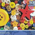 Puzzlebug Puzzles 500 pc Colorful Buttons