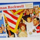 Norman Rockwell 500 Piece Puzzle - Salute the Flag (1971)