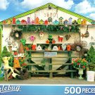 Road Side Crafts Stand - 500 Piece Jigsaw Puzzle Puzzlebug