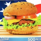 All American Burger - 500 Pc Jigsaw Puzzle Puzzlebug