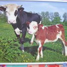 PuzzleBug 100 Piece Puzzle ~ Baby Calf and Mother