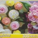 Puzzlebug 300 Piece Puzzle ~ Cupcake Floral Delight