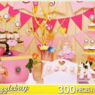 Sweet Pink Dessert Table - 300 Piece Jigsaw Puzzle