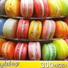 Pretty Pastel Macarons - Puzzlebug 300 Piece Jigsaw Puzzle