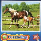 On the Meadow - Puzzlebug - 100 Ps Jigsaw Puzzle - NEW by Greenbrier