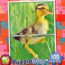 Swimming Duckling - Puzzlebug 100 Pc Jigsaw Puzzle