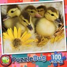 Ducklings - Puzzlebug 100 Piece Jigsaw Puzzle
