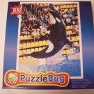 Puzzlebug 100 Piece Jigsaw Puzzle ~ Killer Whale Show