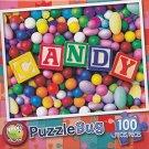 Puzzlebug 100 Piece Puzzle ~ Candy