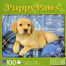 Puppy Paws - Labrador Puppy - 100 Piece Jigsaw Puzzle