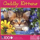 Kit in Flower Pot - Cuddly Kittens - 100 Piece Jigsaw Puzzle