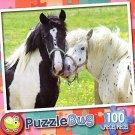 Horse Duet - 100 Piece Jigsaw Puzzle Puzzlebug