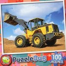 Yellow Bulldozer - Puzzlebug 100 Pc Jigsaw Puzzle