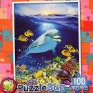 Happy Dolphin - Puzzlebug (100 Piece) Jigsaw Puzzle by Puzzlebug