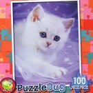 Cuddly Kitten - Puzzlebug - 100 Pieces Jigsaw Puzzle